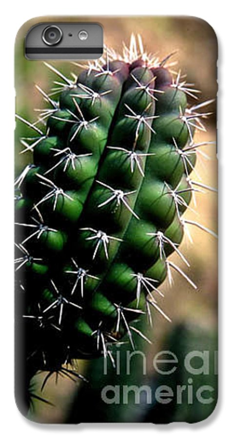 Sahuaro IPhone 6 Plus Case featuring the photograph Cactus Arm by Kathy McClure
