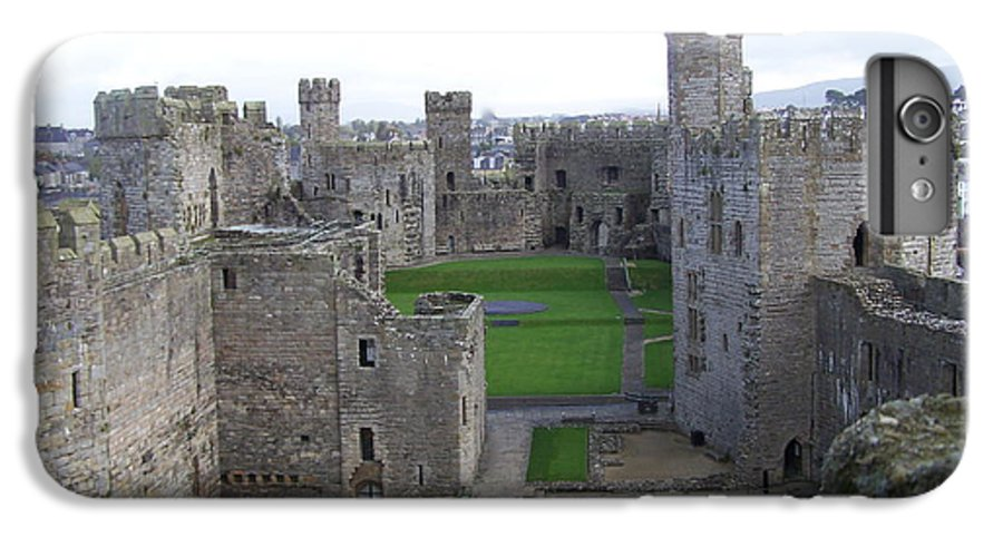 Castles IPhone 6 Plus Case featuring the photograph Caernarfon Castle by Christopher Rowlands