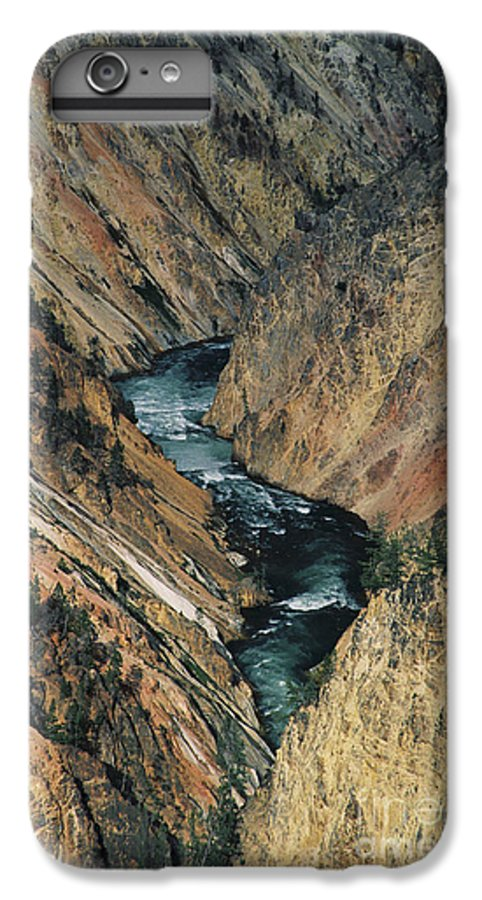 Yellowstone IPhone 6 Plus Case featuring the photograph Canyon Jewel by Kathy McClure