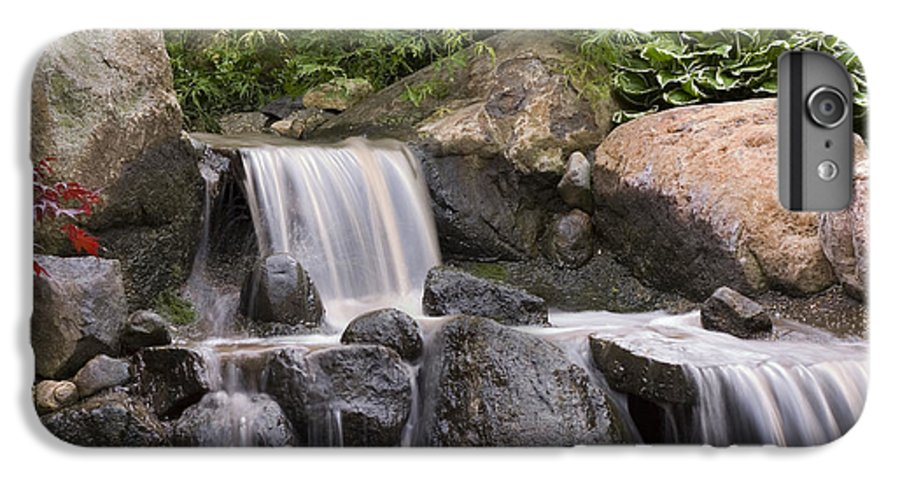 3scape IPhone 6 Plus Case featuring the photograph Cascade Waterfall by Adam Romanowicz