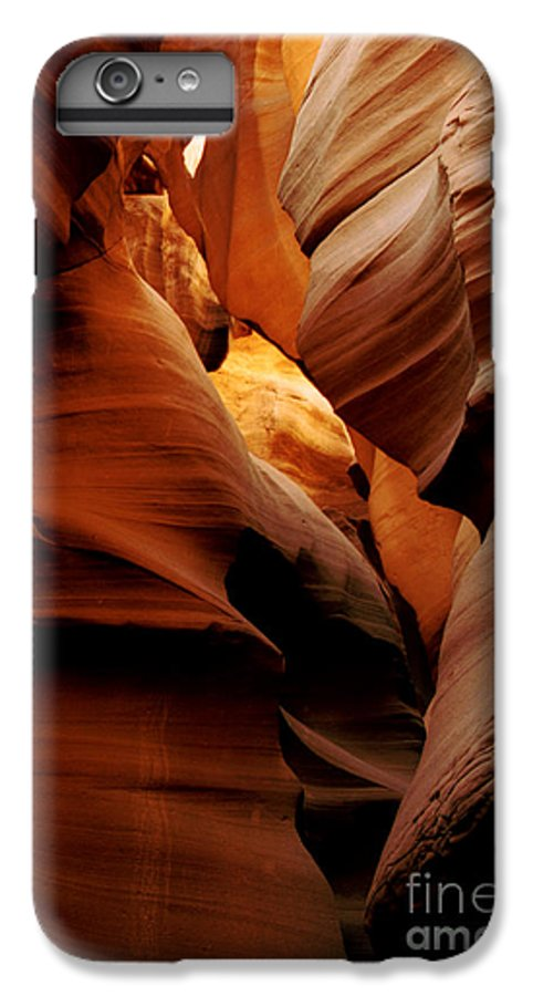 Antelope Canyon IPhone 6 Plus Case featuring the photograph Convolusions by Kathy McClure
