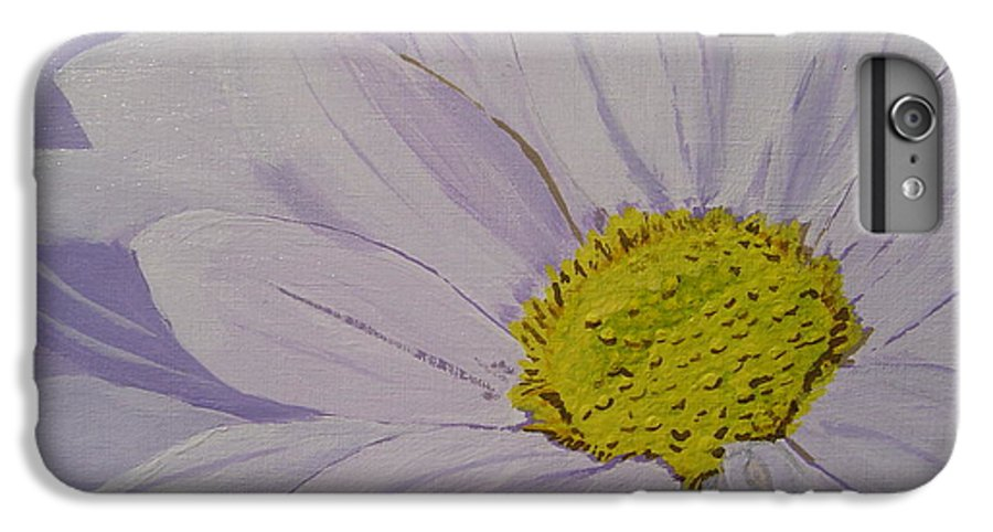 Daisy IPhone 6 Plus Case featuring the painting Daisy by Anthony Dunphy