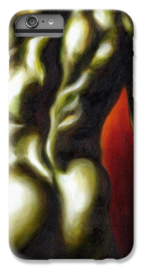 Man Nude Painting IPhone 6 Plus Case featuring the painting Dancer Two by Hiroko Sakai