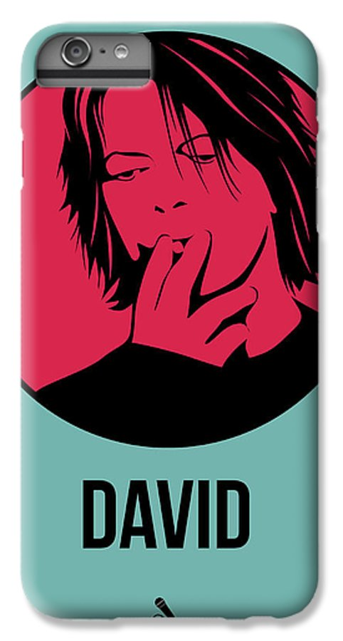 Music IPhone 6 Plus Case featuring the digital art David Poster 3 by Naxart Studio