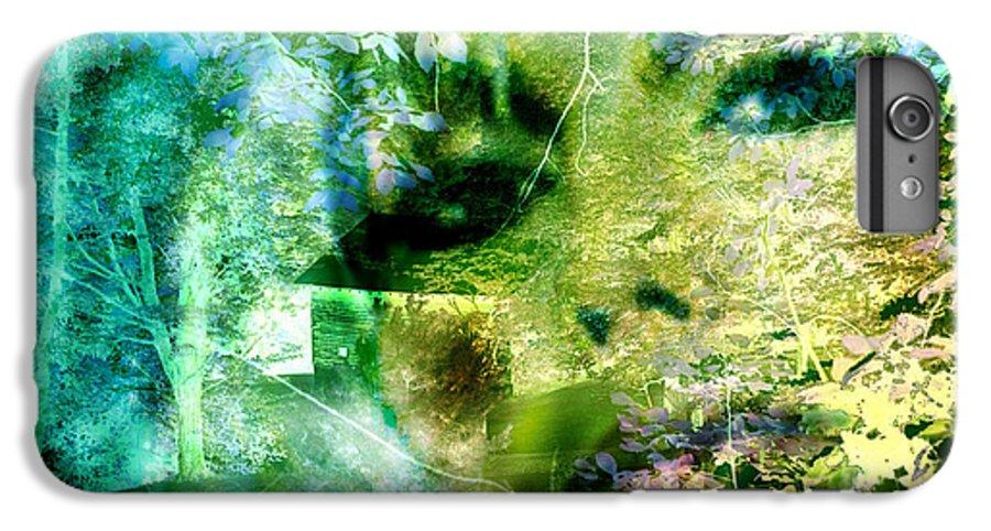 Deep Woods Wanderings IPhone 6 Plus Case featuring the digital art Deep Woods Wanderings by Seth Weaver
