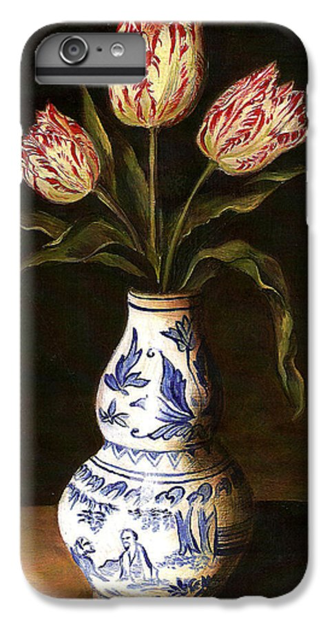 Dutch Still Life IPhone 6 Plus Case featuring the painting Dutch Still Life by Teresa Carter
