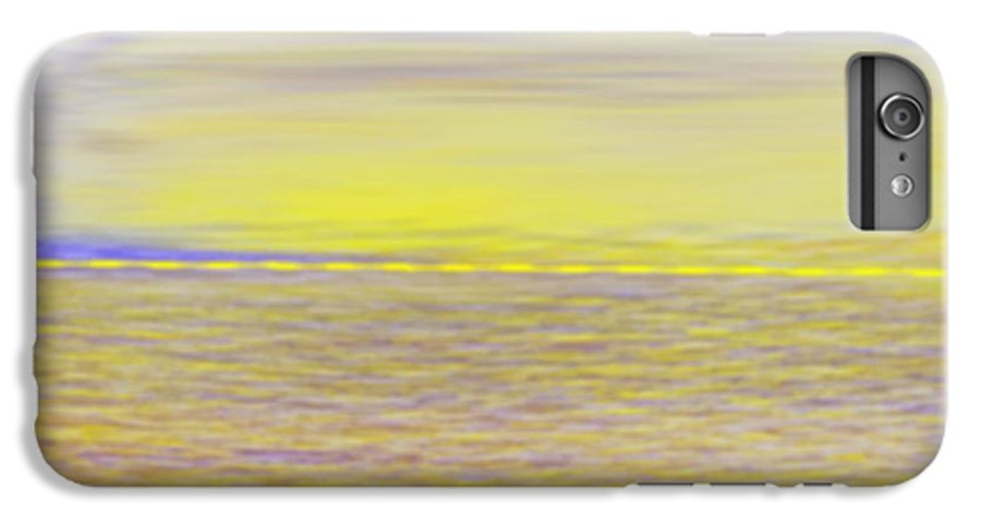 Sky.clouds.sun Reflection On Clouds.colr Clouds.sunset.sun.yellow.sea.waves.sun Reflection On Water. IPhone 6 Plus Case featuring the digital art End Of Day by Dr Loifer Vladimir