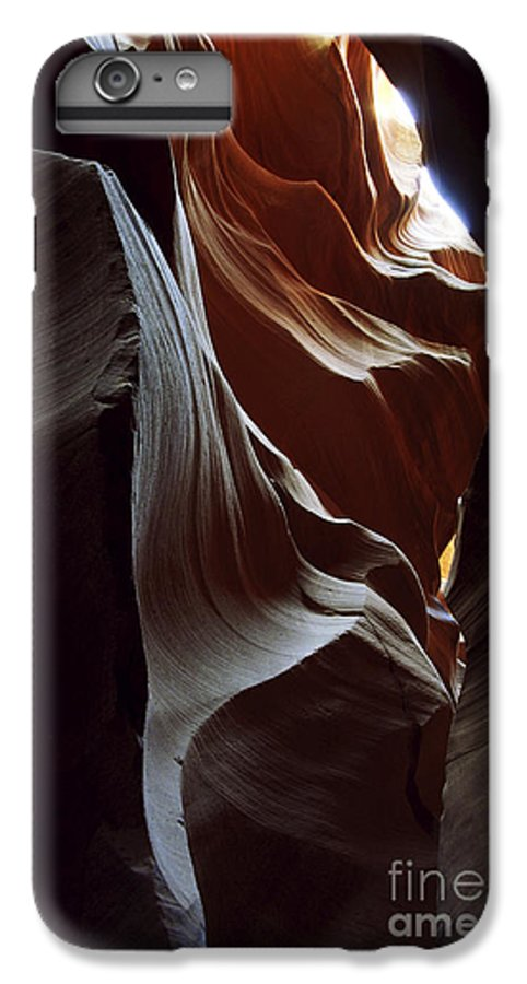 Antelope Canyon IPhone 6 Plus Case featuring the photograph Follow The Light by Kathy McClure