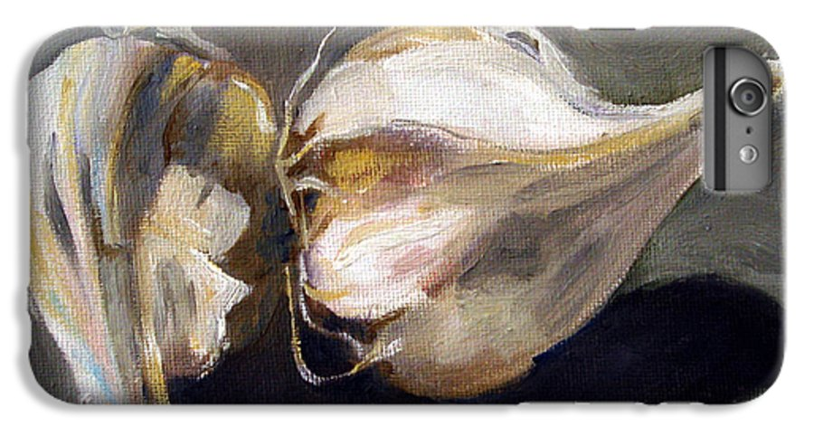 Still-life IPhone 6 Plus Case featuring the painting Garlic by Sarah Lynch