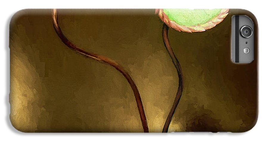 Fine Art IPhone 6 Plus Case featuring the painting Glass Flowers by David Wagner