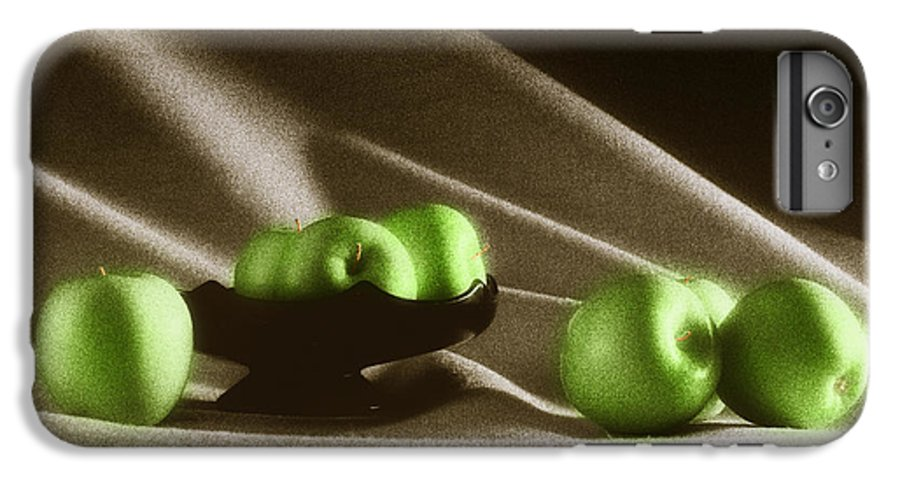 Granny Smith IPhone 6 Plus Case featuring the photograph Green Apples by Tony Cordoza