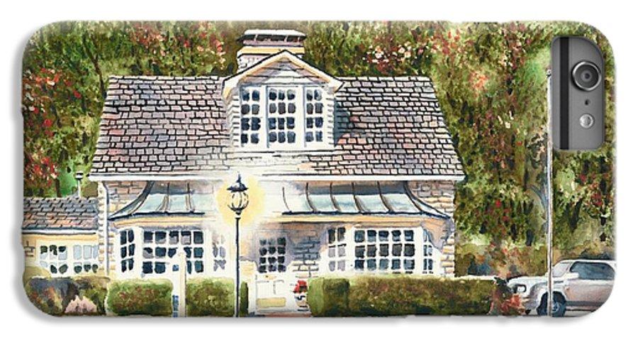 Greystone Inn Ii IPhone 6 Plus Case featuring the painting Greystone Inn II by Kip DeVore