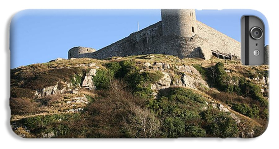 Castles IPhone 6 Plus Case featuring the photograph Harlech Castle by Christopher Rowlands