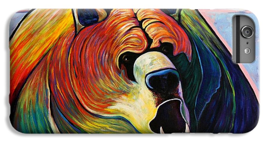 Wildlife IPhone 6 Plus Case featuring the painting He Who Greets With Fire by Joe Triano