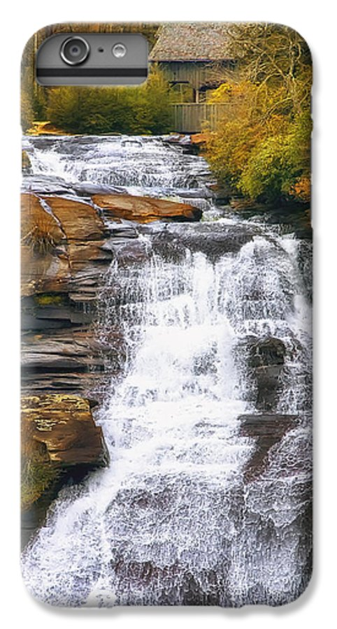 Water IPhone 6 Plus Case featuring the photograph High Falls by Scott Norris