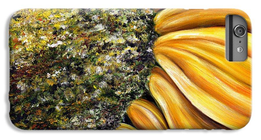 Sun Flower IPhone 6 Plus Case featuring the painting Himawari by Hiroko Sakai