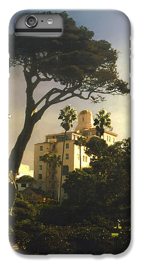 Landscape IPhone 6 Plus Case featuring the photograph Hotel California- La Jolla by Steve Karol
