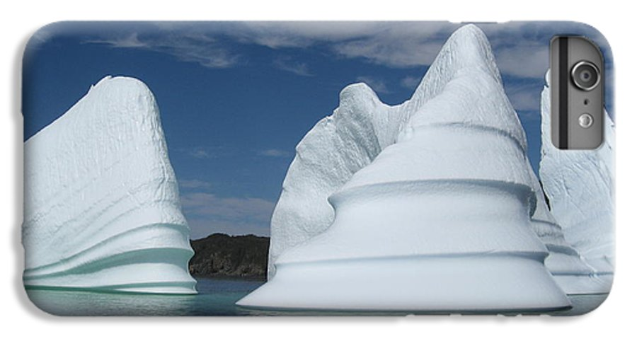 Iceberg Newfoundland IPhone 6 Plus Case featuring the photograph Icebergs by Seon-Jeong Kim