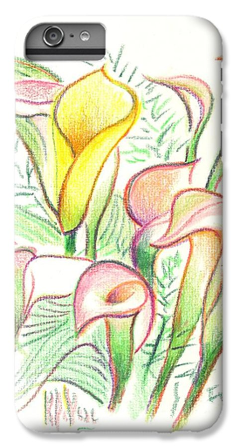 In The Golden Afternoon IPhone 6 Plus Case featuring the painting In The Golden Afternoon by Kip DeVore