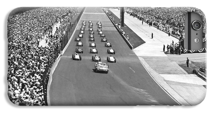 How Many Laps In Indy 500 >> Indy 500 Parade Lap Iphone 6 Plus Case For Sale By Underwood Archives