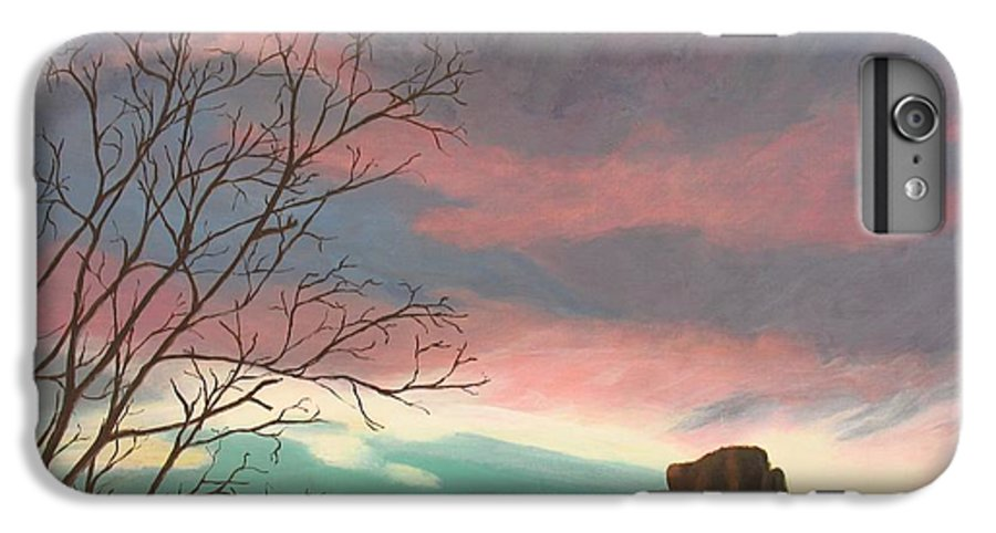 Sedona IPhone 6 Plus Case featuring the painting Jewels In The Sky by Janis Mock-Jones