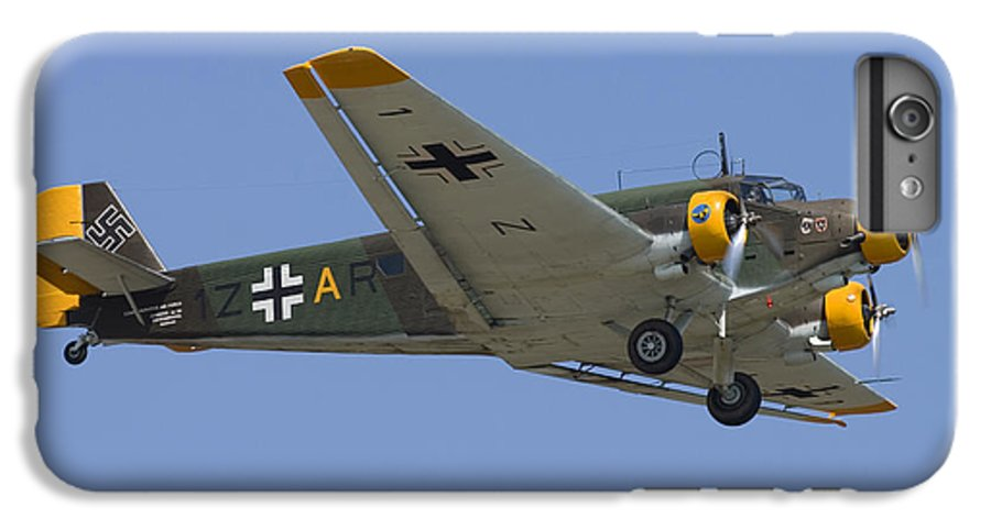 3scape Photos IPhone 6 Plus Case featuring the photograph Junkers Ju-52 by Adam Romanowicz