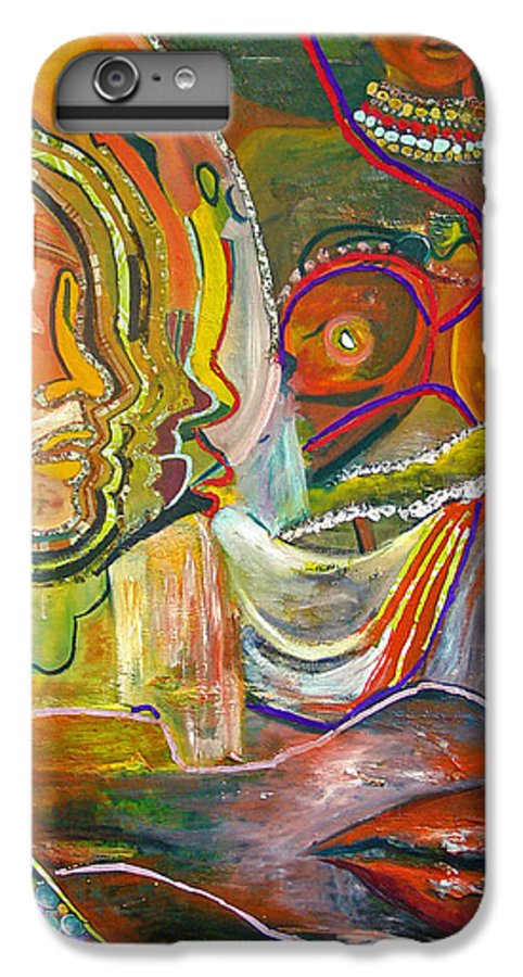 Impressionism IPhone 6 Plus Case featuring the painting Koulikoro Woman by Peggy Blood