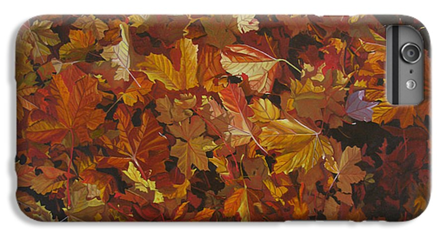 Fall IPhone 6 Plus Case featuring the painting Last Fall In Monroe by Thu Nguyen