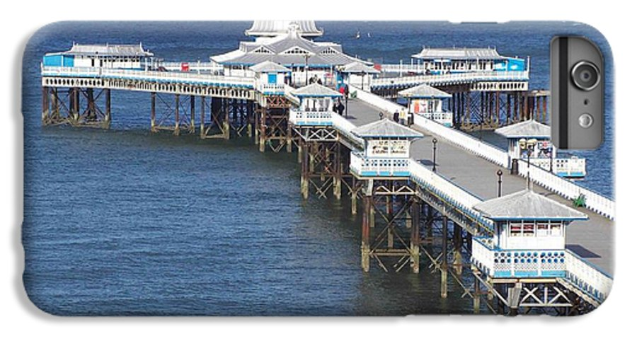 Piers IPhone 6 Plus Case featuring the photograph Llandudno Pier by Christopher Rowlands