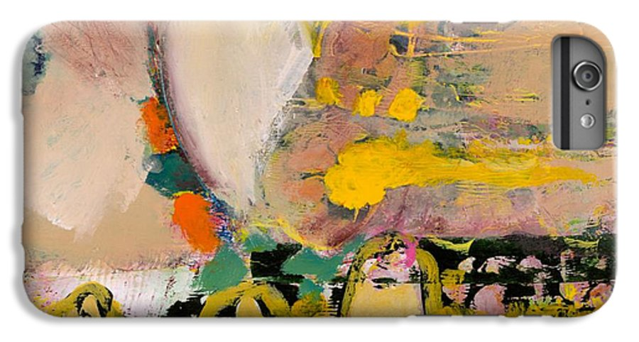 Landscape IPhone 6 Plus Case featuring the painting Locomotion by Allan P Friedlander
