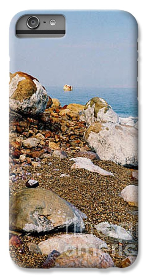 Dead Sea IPhone 6 Plus Case featuring the photograph Lot's Wife by Kathy McClure