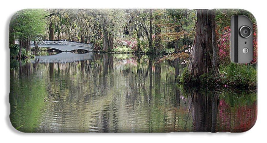 Magnolia Plantation Garden IPhone 6 Plus Case featuring the photograph Magnolia Plantation Gardens Series II by Suzanne Gaff