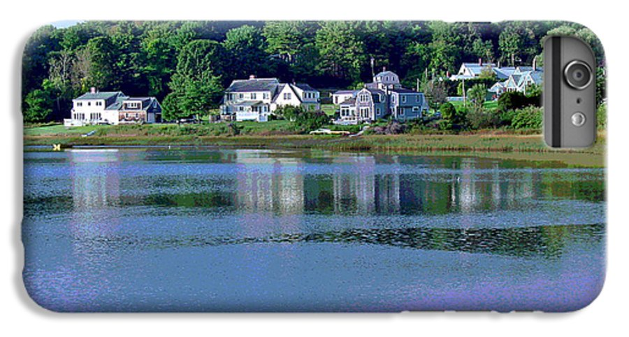 Maine IPhone 6 Plus Case featuring the photograph Maine Lakefront by Suzanne Gaff