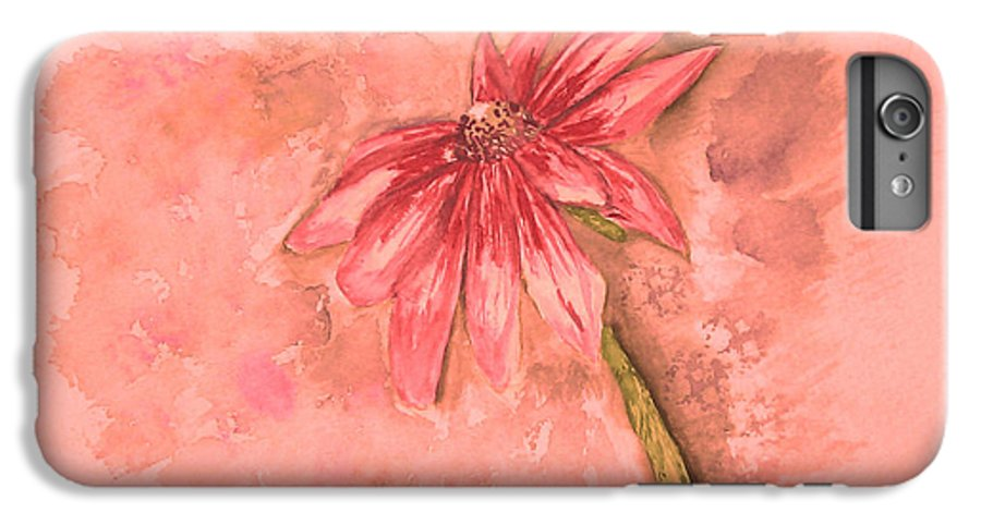 Watercolor IPhone 6 Plus Case featuring the painting Melancholoy by Crystal Hubbard