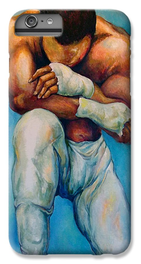Michael IPhone 6 Plus Case featuring the painting Michael The Print by Lloyd DeBerry