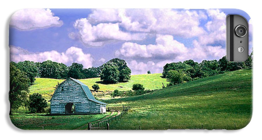 Landscape IPhone 6 Plus Case featuring the photograph Missouri River Valley by Steve Karol