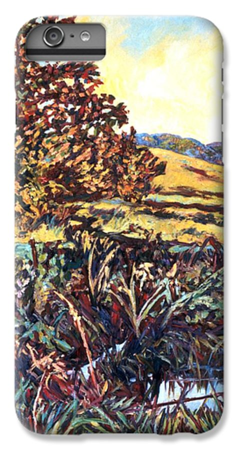 Landscape IPhone 6 Plus Case featuring the painting Near Childress by Kendall Kessler