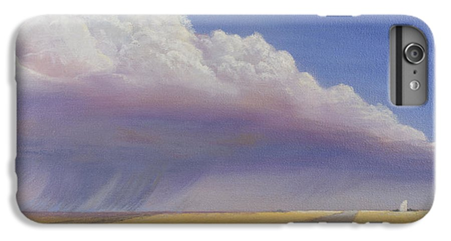 Landscape IPhone 6 Plus Case featuring the painting Nebraska Vista by Jerry McElroy