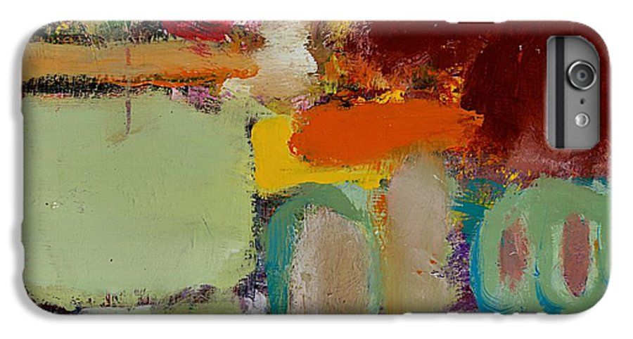 Landscape IPhone 6 Plus Case featuring the painting Over There by Allan P Friedlander