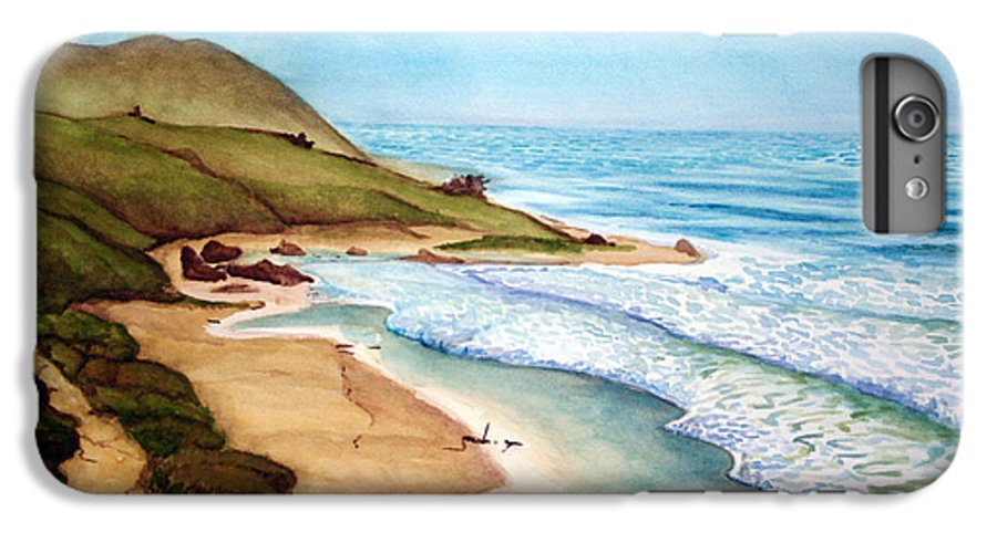 Rick Huotari IPhone 6 Plus Case featuring the painting Pacific by Rick Huotari