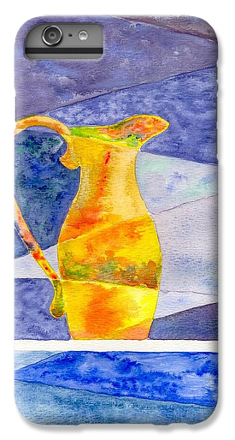 Still Life IPhone 6 Plus Case featuring the painting Pitcher 1 by Micah Guenther