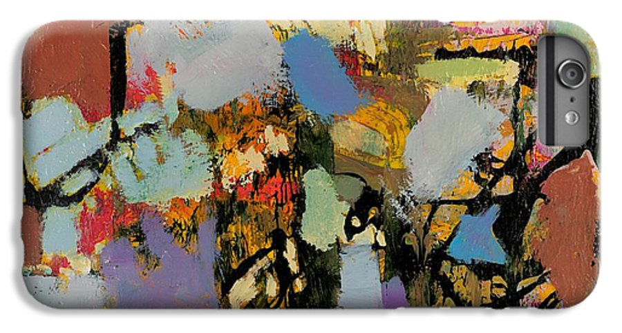 Landscape IPhone 6 Plus Case featuring the painting Quick Racing by Allan P Friedlander