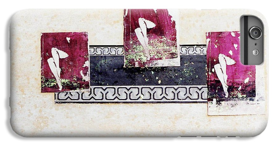Legs IPhone 6 Plus Case featuring the mixed media Resolution by Mary Ann Leitch