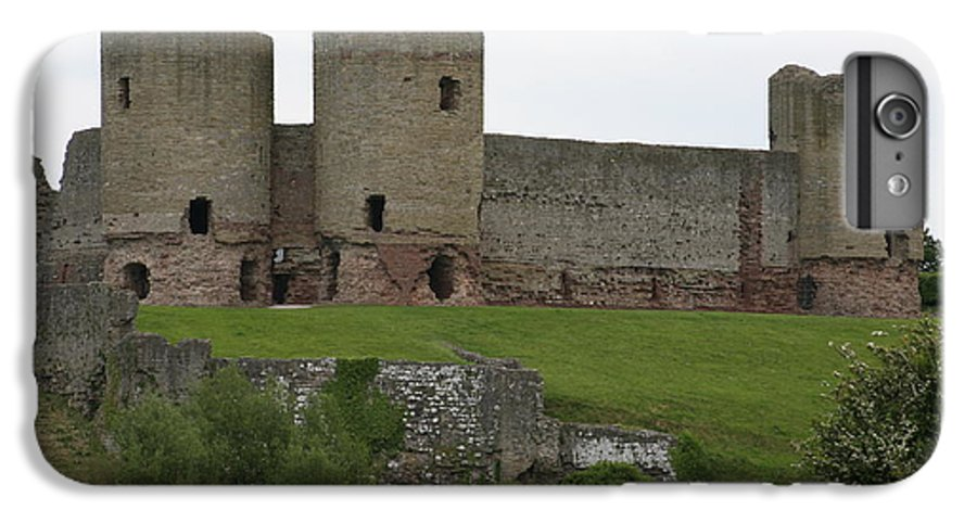 Castles IPhone 6 Plus Case featuring the photograph Ruddlan Castle 2 by Christopher Rowlands