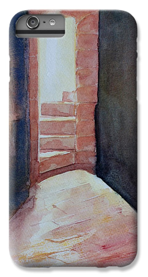 Light IPhone 6 Plus Case featuring the painting Secrets by Janice Gell