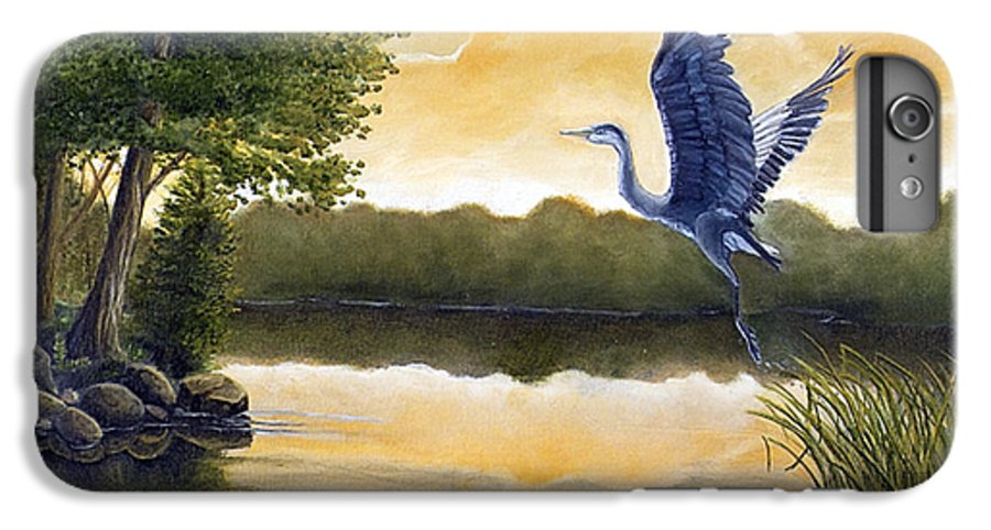 Rick Huotari IPhone 6 Plus Case featuring the painting Serenity by Rick Huotari