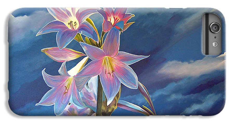 Botanical IPhone 6 Plus Case featuring the painting Spellbound by Hunter Jay