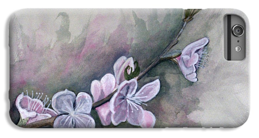 Rick Huotari IPhone 6 Plus Case featuring the painting Spring Splendor by Rick Huotari