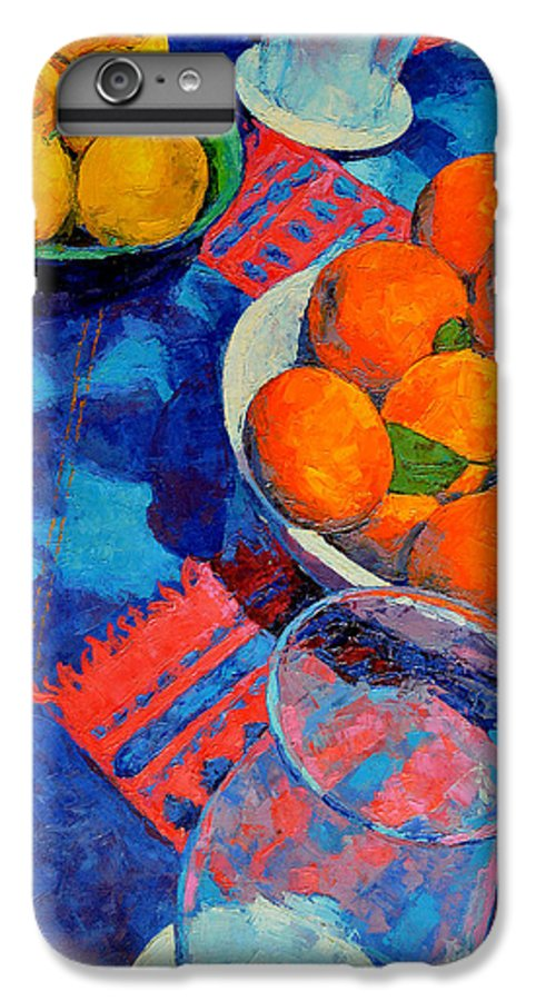 Still Life IPhone 6 Plus Case featuring the painting Still Life 2 by Iliyan Bozhanov