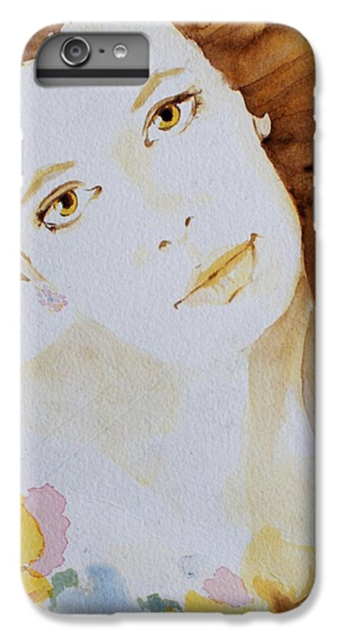 Watercolour IPhone 6 Plus Case featuring the painting Still Waters' Reflection by Janice Gell